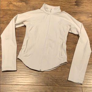 Lululemon white zip up